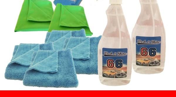 autowaschen ohne wasser test mit wash and shine 66. Black Bedroom Furniture Sets. Home Design Ideas