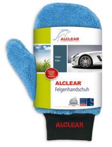 ALCLEAR 950013b Microfaser Auto Alu Felgen Reiniger-Handschuh für Autopflege Motorrad Fahrrad